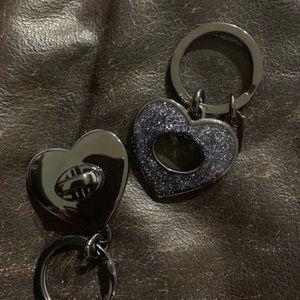 COACH Valet Heart Keychain